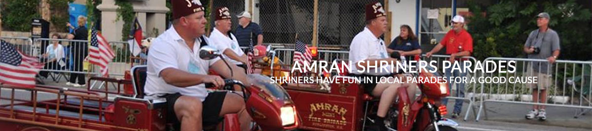 Amran Shriners celebrate in local area parades